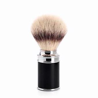 Muhle Black and Chrome Synthetic Fibre Shaving Brush