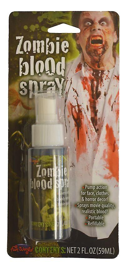 Palmer Agencies Zombie Blood Spray Halloween Fancy Dress Accessory Costume Red