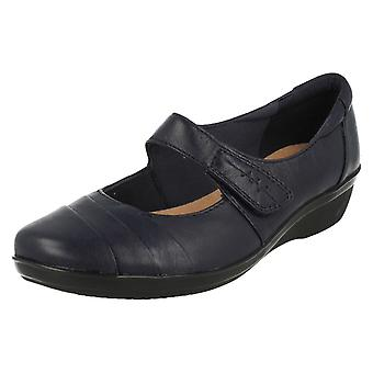 Ladies Clarks Cushion Soft Smart Shoes Everlay Kennon