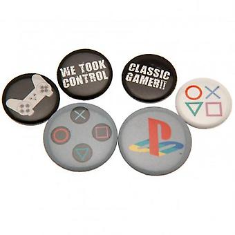 Playstation Button Badge Set