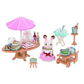 Sylvanian Families Party Set (Toys , Dolls And Accesories , Miniature Toys , Stages)