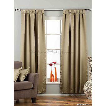 Olive Green Tab Top 90% blackout Curtain / Drape / Panel - 50X84