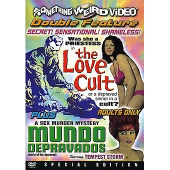 Love Cult/Mundo Depravados [DVD] USA import