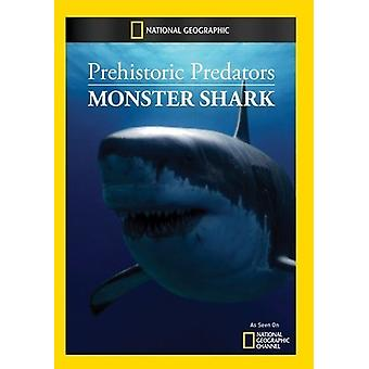 Förhistoriska rovdjur: Monster Shark [DVD] USA import
