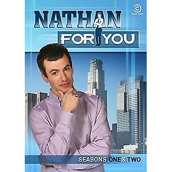 Nathan for You: Seasons One & Two [DVD] USA import