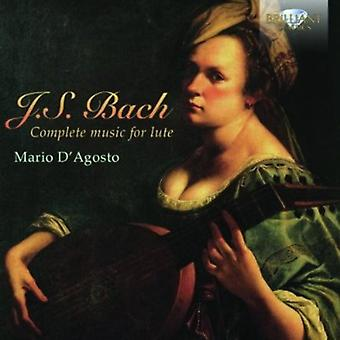 J.S. Bach - Bach: Complete Music for Lute [CD] USA import