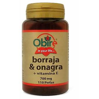 Obire Borage and Evening Primrose 700mg. 110Perlas