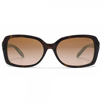 Ralph By Ralph Lauren wichtiger Platz Sunglasses In Light Tortoise And Turquoise