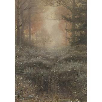 John Everett Millais - Dew-Drenched Furze Poster Print Giclee