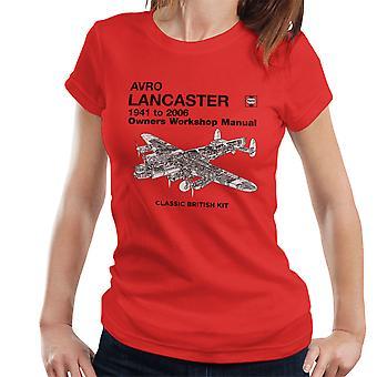 Haynes Owners Workshop Manual Arvo Lancaster 1941 tot en met 2006 Women's T-Shirt