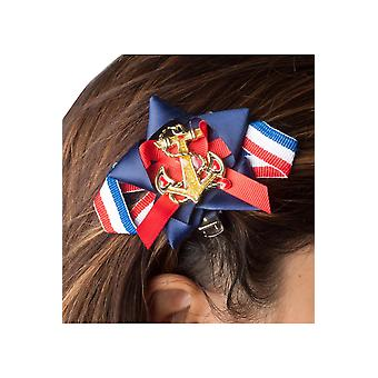 Hair accessories Women Sailor hairclips or shoeclips with bows