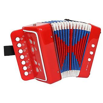 Legler Red Accordion (Toys , Educative And Creative , Music , Instruments)