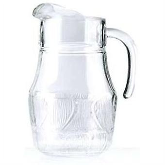 Fleur Jug 1.3L Luminarc Traditionally Styled Toughened Glass Handled