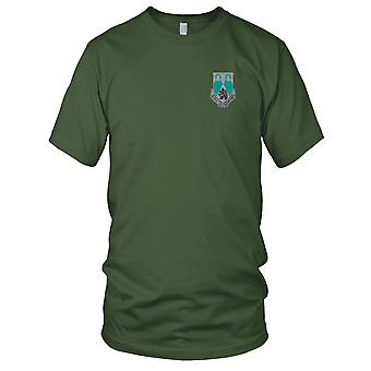 US Army - 2nd Military Intelligence Battalion Embroidered Patch - Mens T Shirt