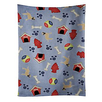 Carolines Treasures  BB4056KTWL Dog House Collection Bullmastiff Kitchen Towel