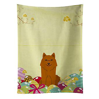Carolines Treasures  BB6022KTWL Easter Eggs Karelian Bear Dog Kitchen Towel