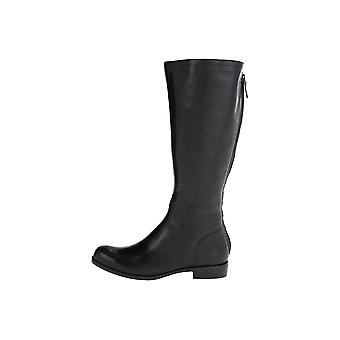 Nine West Womens Counter Wide Calf Leather Closed Toe Knee High Fashion Boots