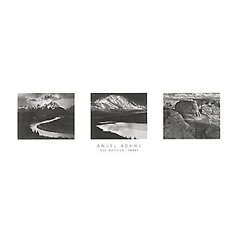 Our National Parks Poster Print by Ansel Adams (36 x 12)