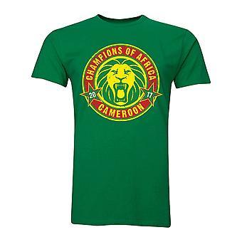 Cameroon African Nations Winners T-Shirt (Green) - Kids