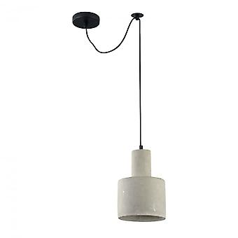 Maytoni Lighting Broni LOFT Collection Pendant, Grey