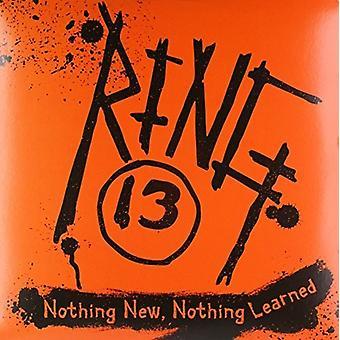 Ringen 13 - intet nyt intet lært [Vinyl] USA import