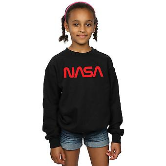 NASA Girls Modern Logo Sweatshirt