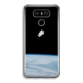 LG G6 Transparent Case - Alone in Space