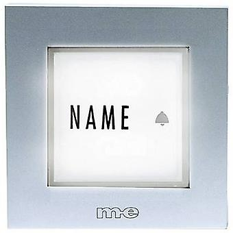 Bell panel backlit, with nameplate 1x m-e modern-electronics KTB