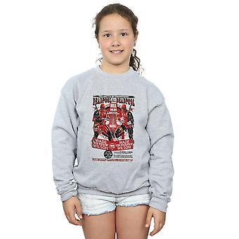 Marvel Girls Deadpool Kills Deadpool Sweatshirt