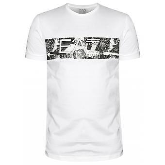 EA7 EA7 White Chest Logo T-Shirt
