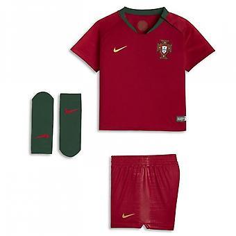 2018-2019 Portogallo casa Nike Baby Kit