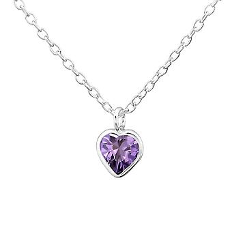 Heart - 925 Sterling Silver Necklaces - W31053x