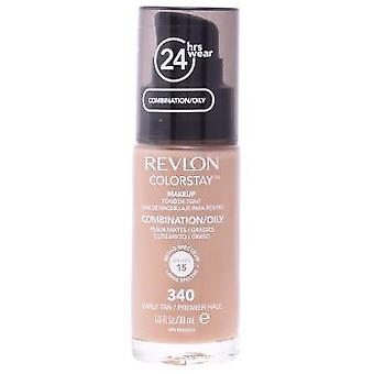 Revlon Colorstay combination/oily skin #340-earyly tan 30 ml (Make-up , Face , Bases)