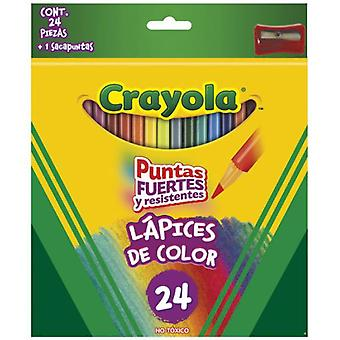 Crayola 24 Colored Pencils (Babies and Children , Toys , Educative And Creative)