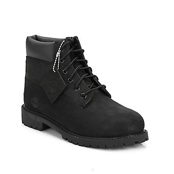 Timberland Youth Black 6 Inch Premium Waterproof Boots