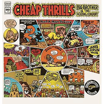 Big Brother & the Holding Company Featuring Janis - Cheap Thrills [Vinyl] USA import