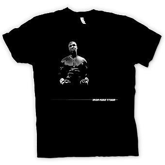 Mens T-shirt - Iron - Mike Tyson - Pop Art