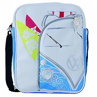 VW Transporter Camper Van Retro Flight Shoulder Bag - Surfer