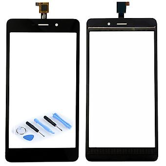 Display touch screen digitizer black-to WIKO pulp Fab 4 G