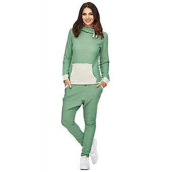 Tazzio mode dames sport suit groen