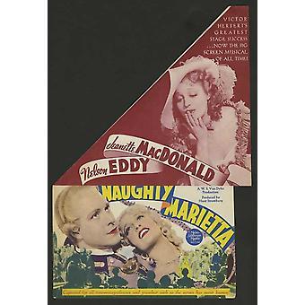 Naughty Marietta Movie Poster (11 x 17)