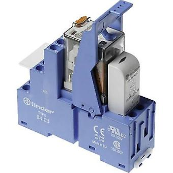Finder 58.33.8.024.0060 Relay component 1 pc(s) Nominal voltage: 24 V AC Switching current (max.): 10 A 3 change-overs