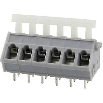 Degson DG243-5.0-02P-11-00AH Spring-loaded terminal 3.31 mm² Number of pins 2 Grey 1 pc(s)