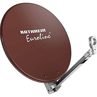 Kathrein KEA 650 SAT antenna 65 cm Reflective material: Aluminium Red brown