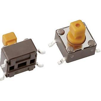 Mentor 1254.1207 bouton-poussoir 12 Vdc 0,05 A 1 x Off/(On) momentanée 1 PC (s)