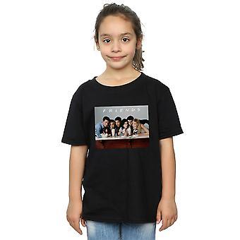 Mädchen Gruppe Freunde Foto Milchshakes T-Shirt