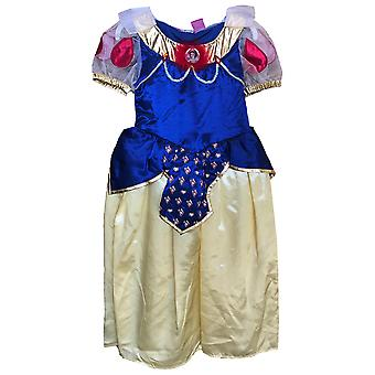 Snow White Deluxe Disney Princess Fairy Tale Story Book Week Girls Costume 4-6