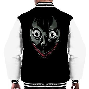 Momo Ape Face Men's Varsity Jacket
