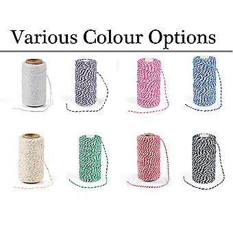 100m Bakers Twine String for Crafts & Gift Wrap