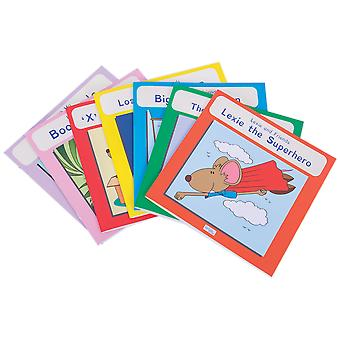 Lexie Mouse Phonic Coloured Book Band (Pack of 7) Educational School Read Learn